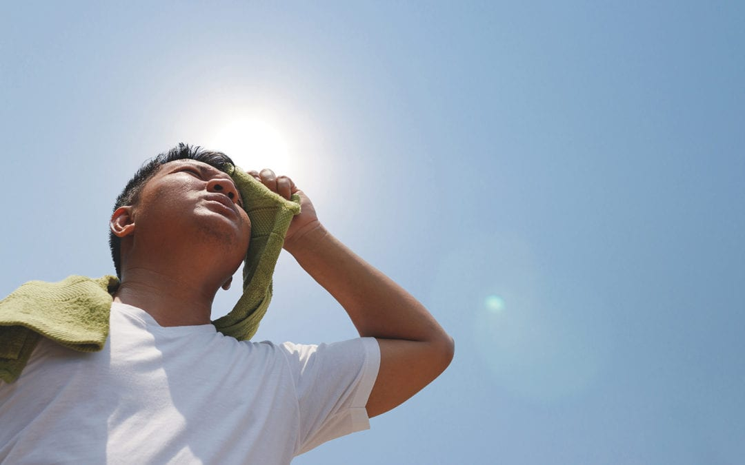 Ways to Beat the Heat While Working on Your Home in the Summer